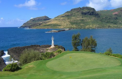 Lihue Golf course
